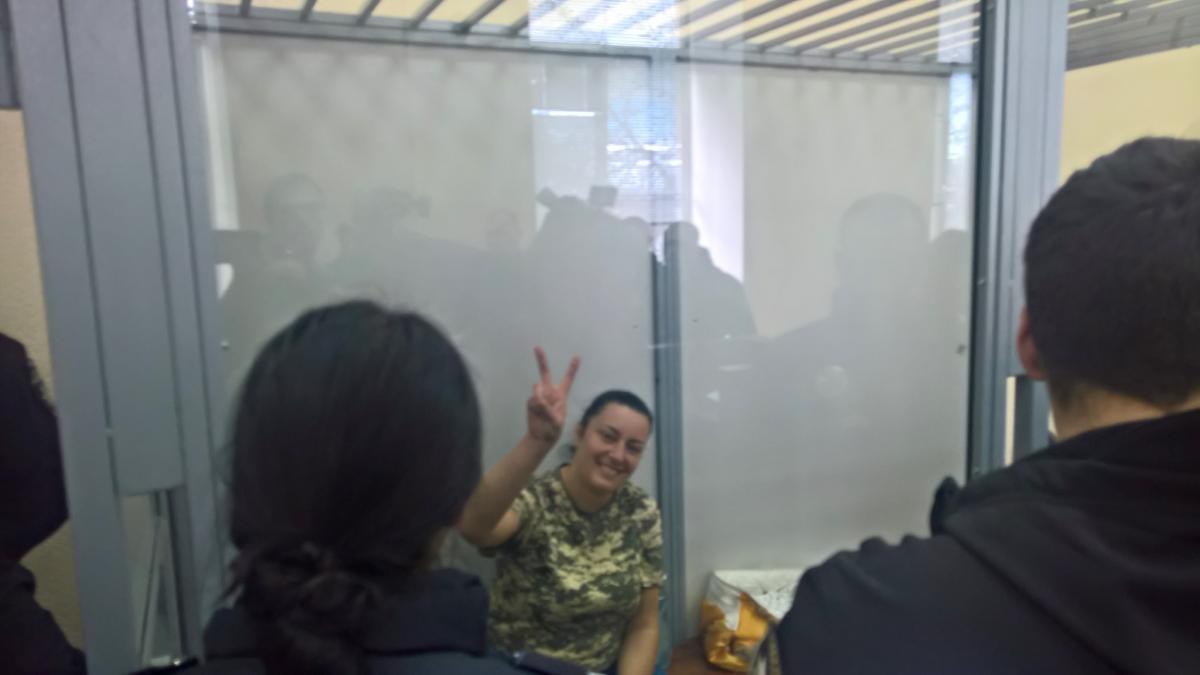 """В Киеве арестовали женщину-ветерана АТО с позывным """"Пума"""""""