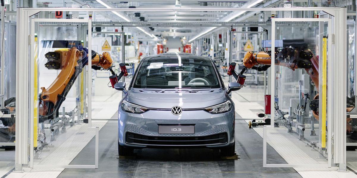 Електрокар ID.3 запропонують клієнтам в трьох версіях / фото Volkswagen
