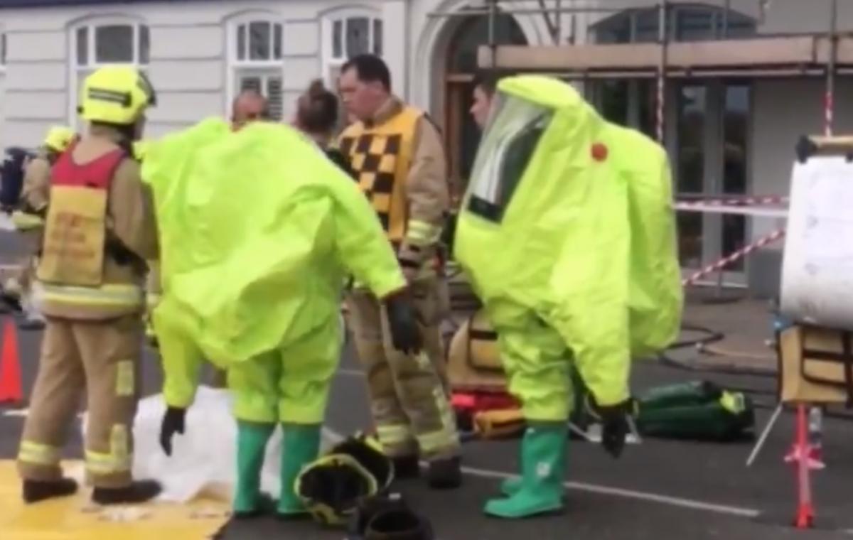Пострадавшим оказывали помощь на месте происшествия / Скриншот