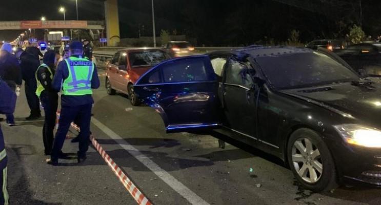 В машине находилось три человека, один из них погиб / фото npu.gov.ua