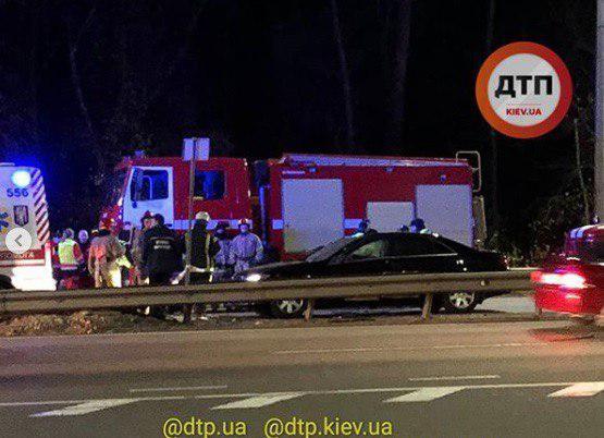 За попередньою інформацією, загинув охоронець / фото dtp.kiev.ua