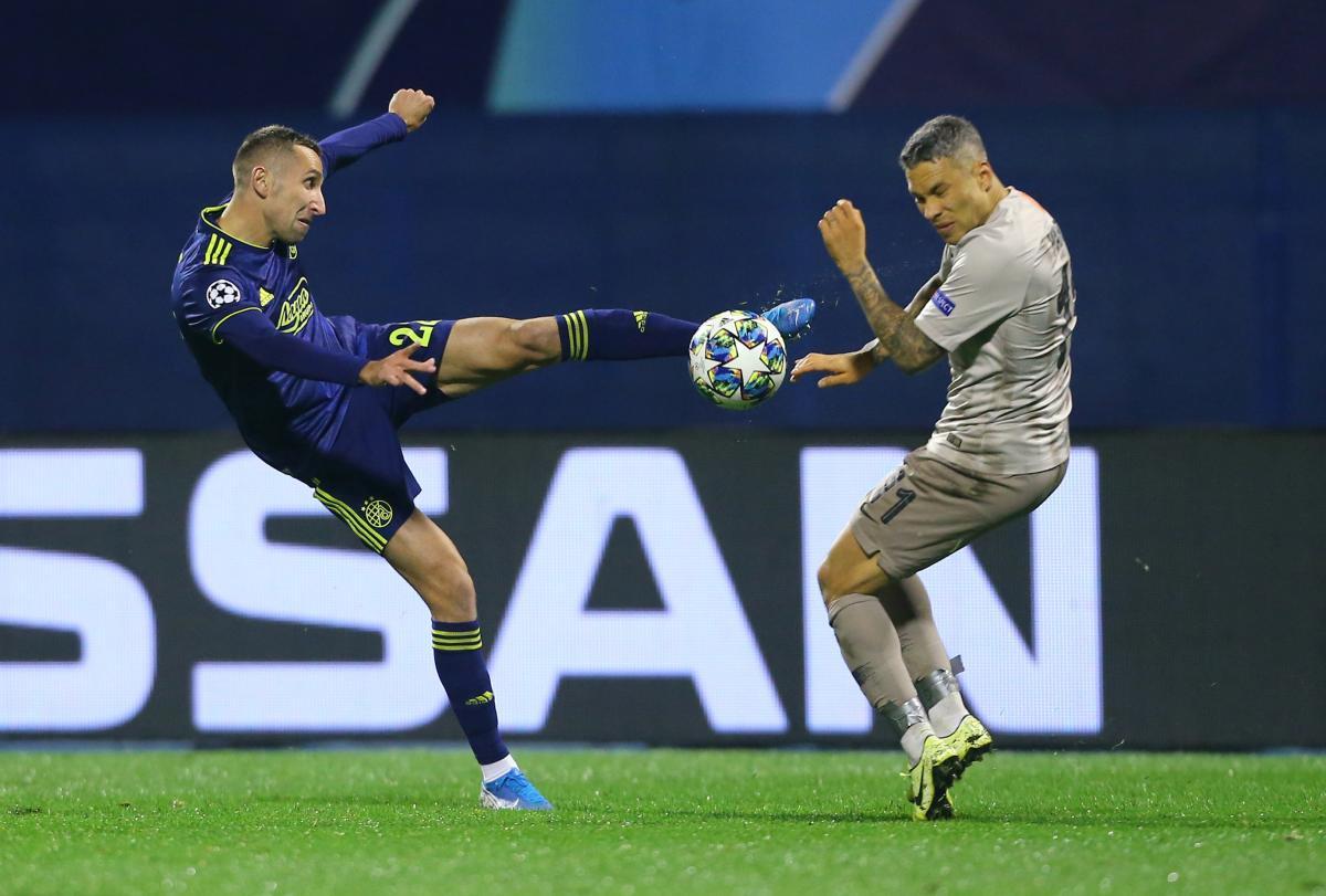 Динамо Загреб - Шахтар / REUTERS