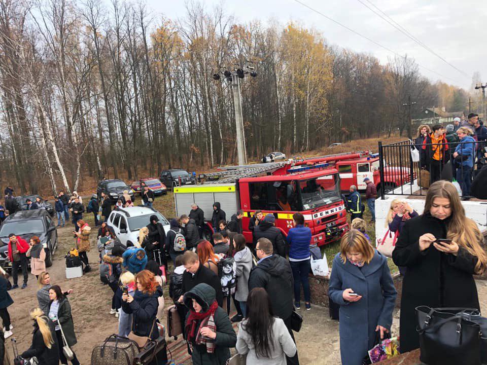 Происшествие расследуется как террористический акт / фото Facebook Игоря Зинкевича