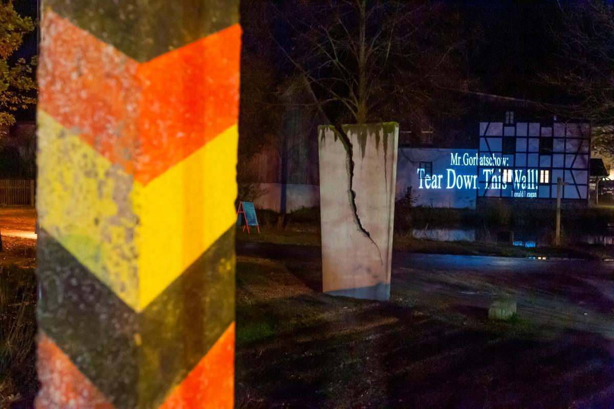 Немцы празднуют 30-летие падения Берлинской стены / Фото REUTERS