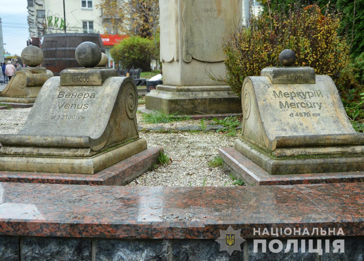 Стоимость скульптуры составляет 25 тысяч гривен / фото ГУ НП в Волынской области