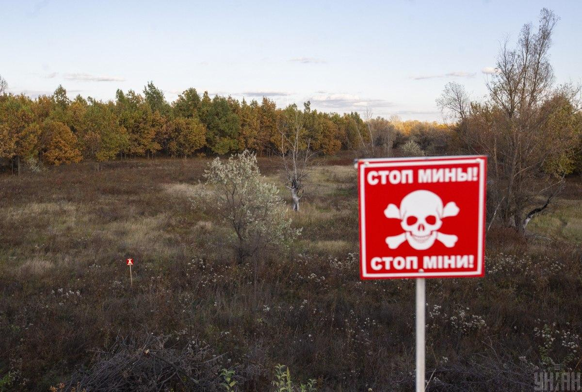 Мины на Донбассе стали причиной гибели сотен гражданских / фото: УНИАН