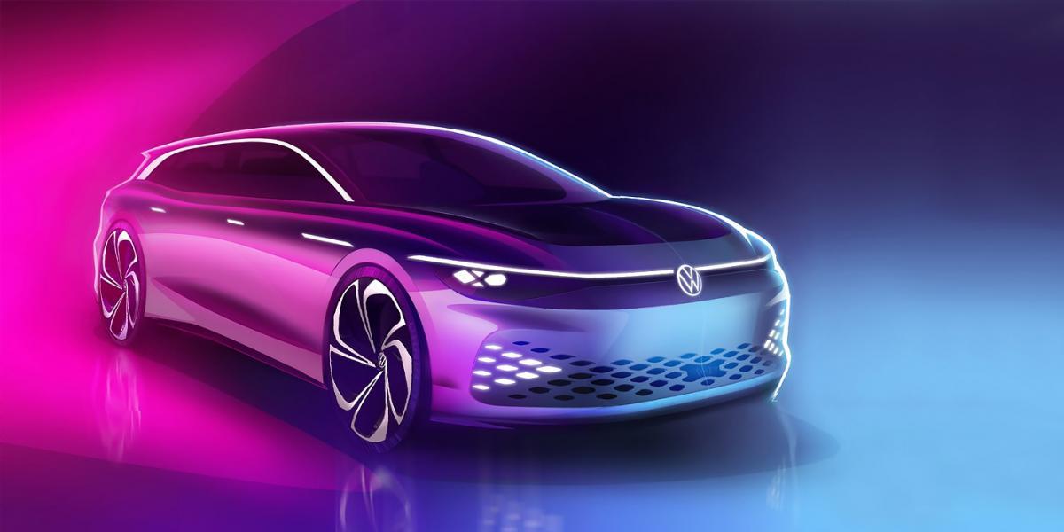 Volkswagen покажет в Лос-Анджелесе универсал с салоном в духе Tesla / фото Volkswagen
