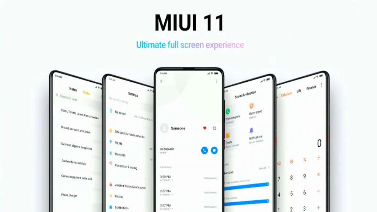 Стабільна версія MIUI 11 вийшла на 15 смартфонах Xiaomi і Redmi / фото Xiaomi