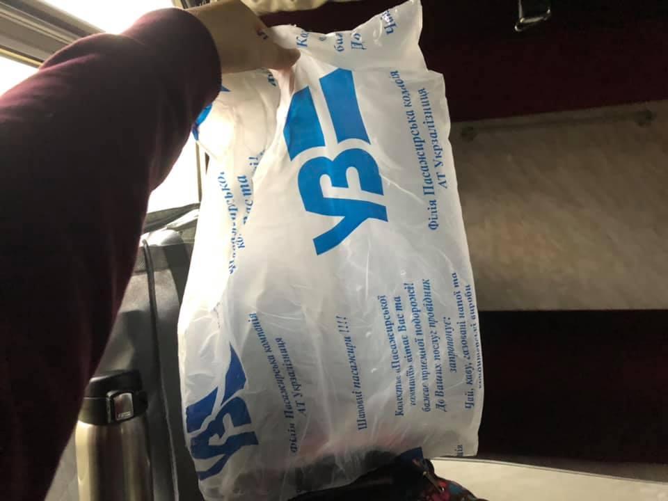 Пассажирка рассказала о том, как проводники выходят из положения / facebook.com/olga.omelyanchuk