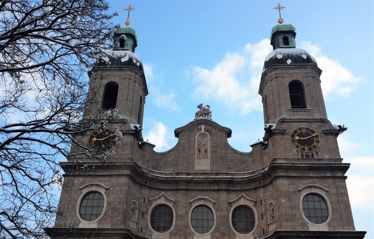 Собор Святого Иакова в Инсбруке / Фото Марина Григоренко