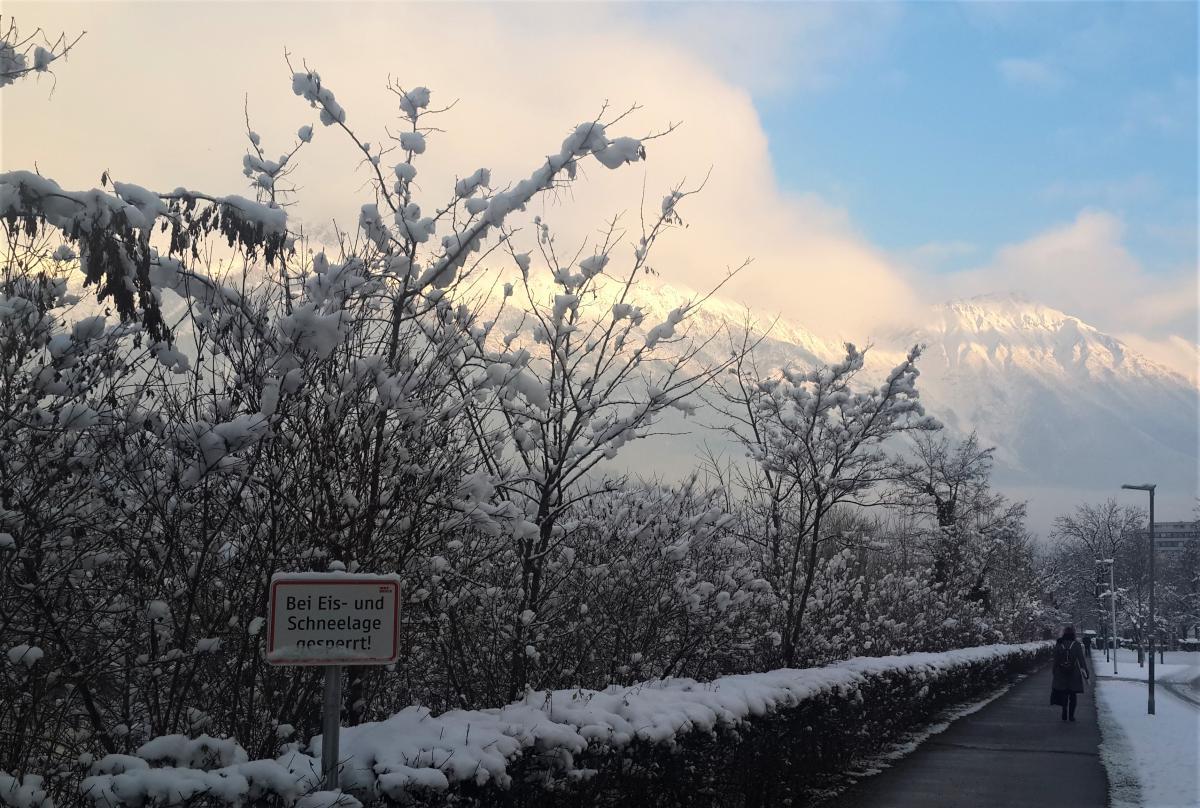 Инсбрук зимой / Фото Марина Григоренко