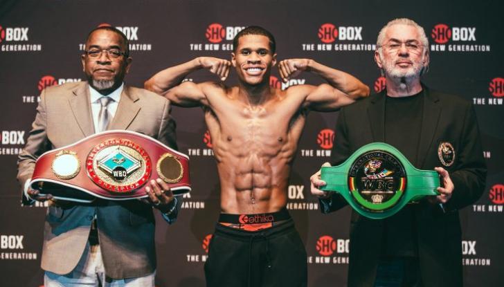 Хейні володіє титулом WBC / фото: BoxingScene