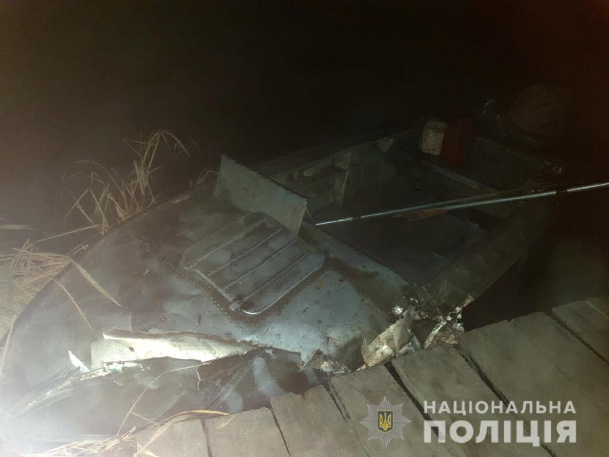 Лодки, вероятно, столкнулись из-за густого тумана / facebook.com/polis11111
