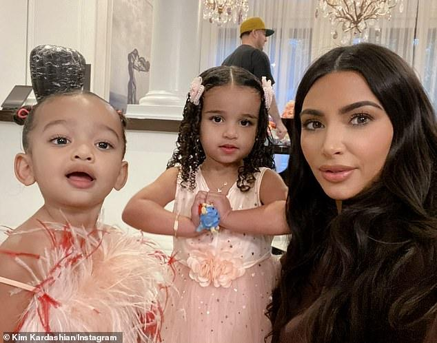 Одной из племянниц Ким исполнилось 3 года / instagram.com/kimkardashian