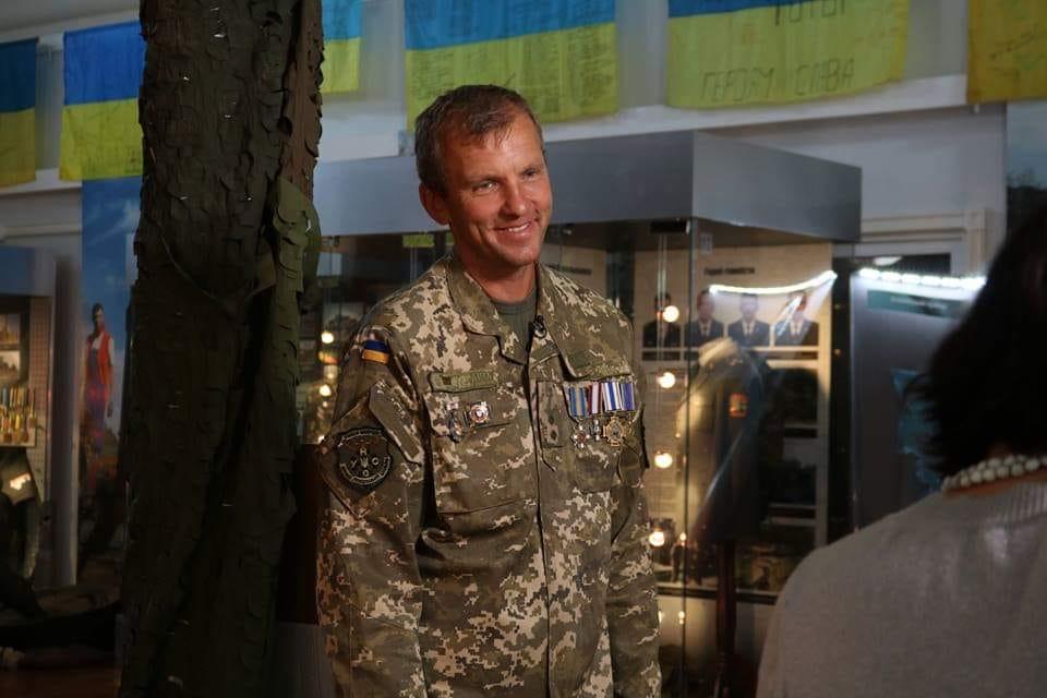 "Donbas war veteran Mazur (nom de guerre ""Topolia"") / Photo fromfacebook.com/denisovaombudsman"