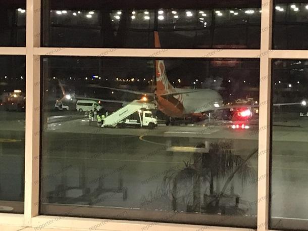 СамолетSkyUp в аэропорту Шарм-эль-Шейха /Фото: reporter-ua.com