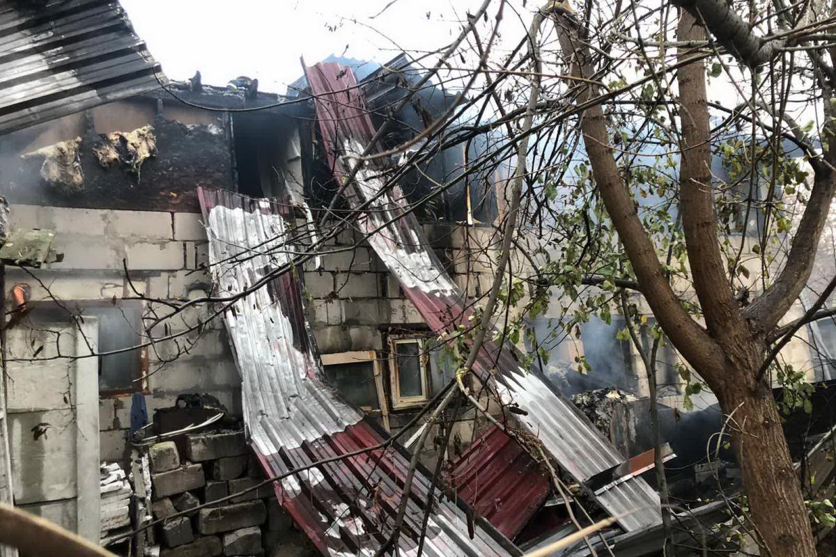 Причина возникновения возгорания будет выяснена специалистами / фото: пресс-служба ГСЧС