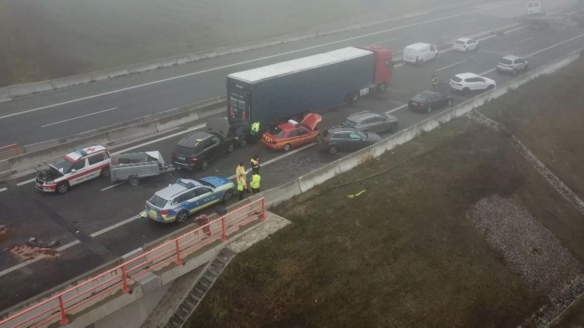 В результаті ДТП четверо людей отримали серйозні травми \ Bayerischer Rundfunk