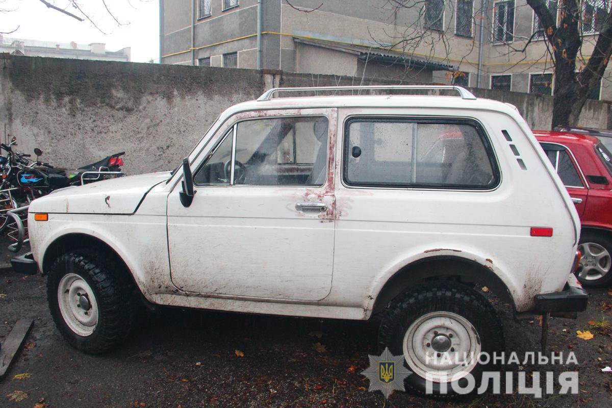Полиция изъяла оружие и транспортные средства участников конфликта / фото ГУ НП в Житомирской области