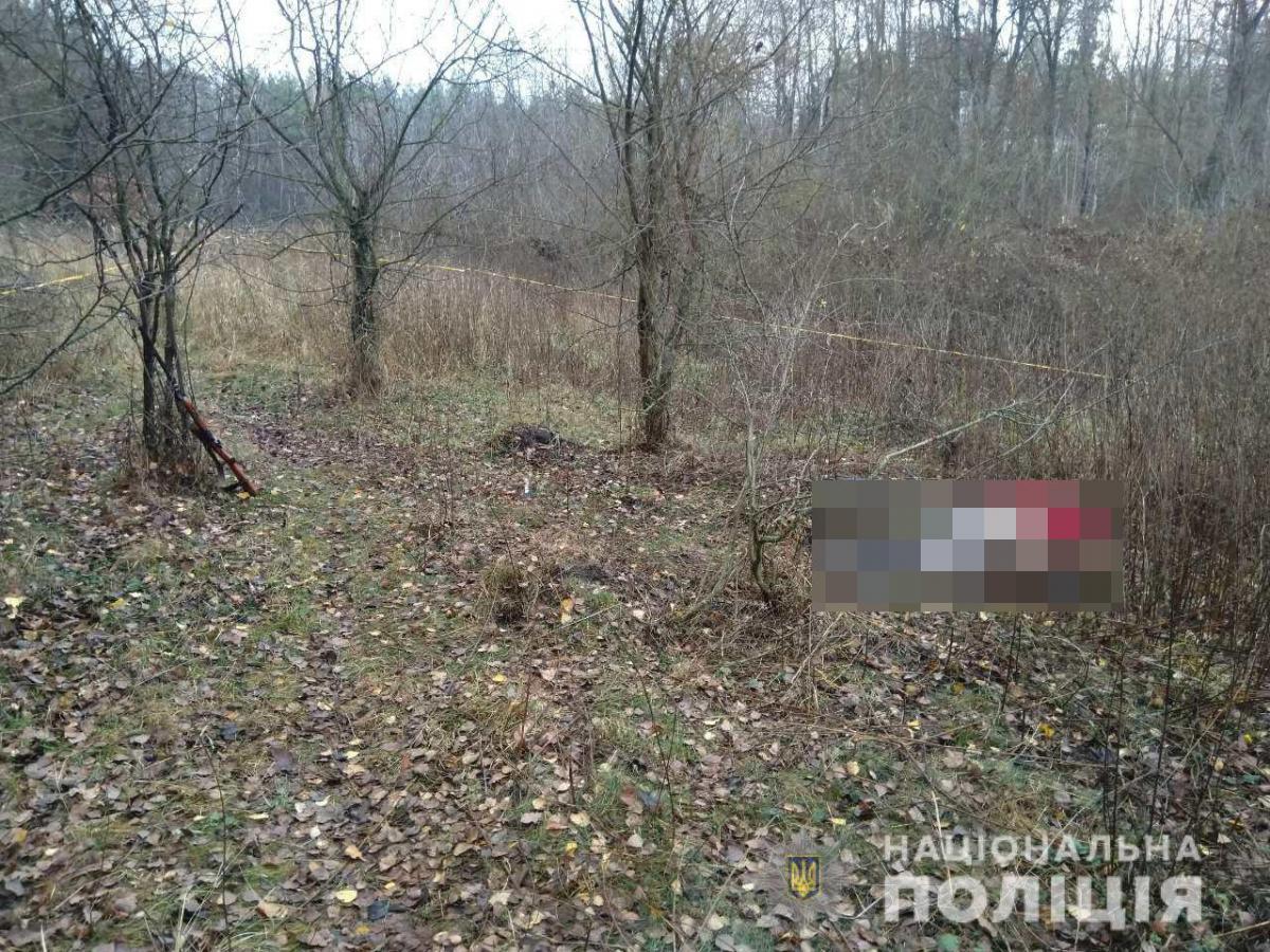 В результате стрельбы один человек погиб, еще один госпитализирован / фото ГУ НП в Житомирской области
