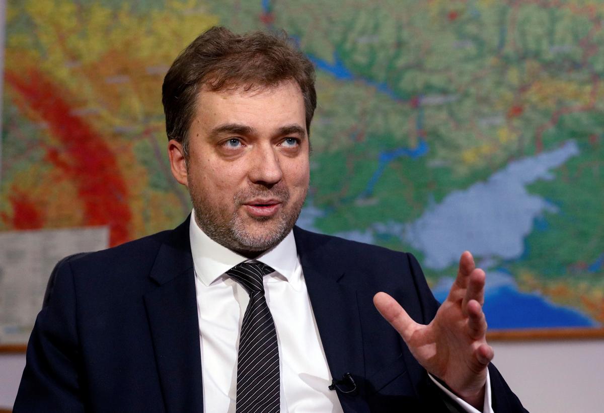 Ukraine's Defense Minister Zagorodnyuk / REUTERS
