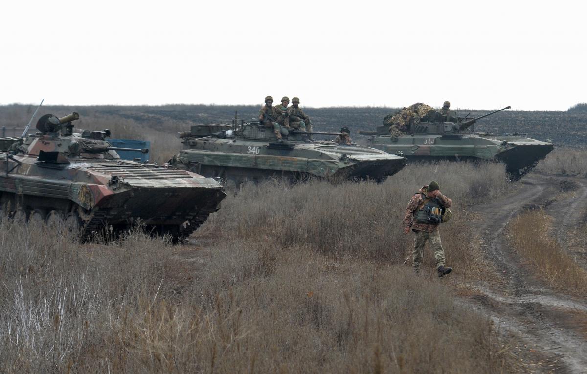 На дії противника нашими воїнами надано адекватну відповідь/ фото REUTERS