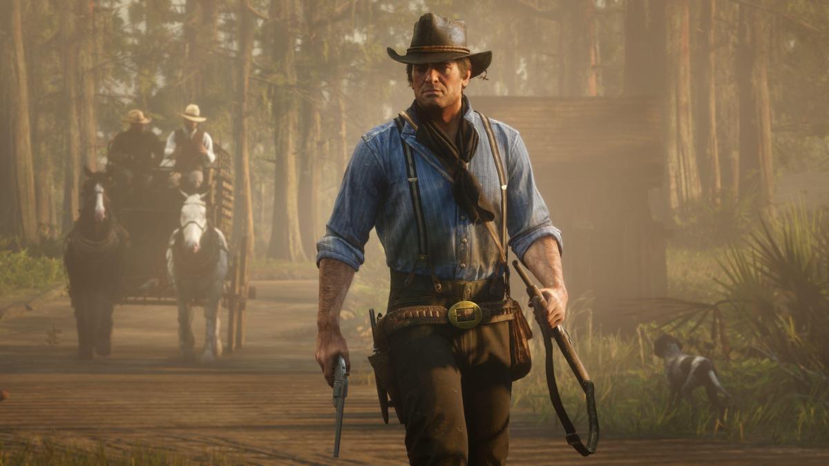 Red Dead Redemption 2 попала в хэллоуинскую распродажу /скриншот