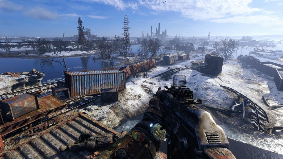 Украинский шутер Metro: Exodus появтися на Stadia до конца года / скриншот