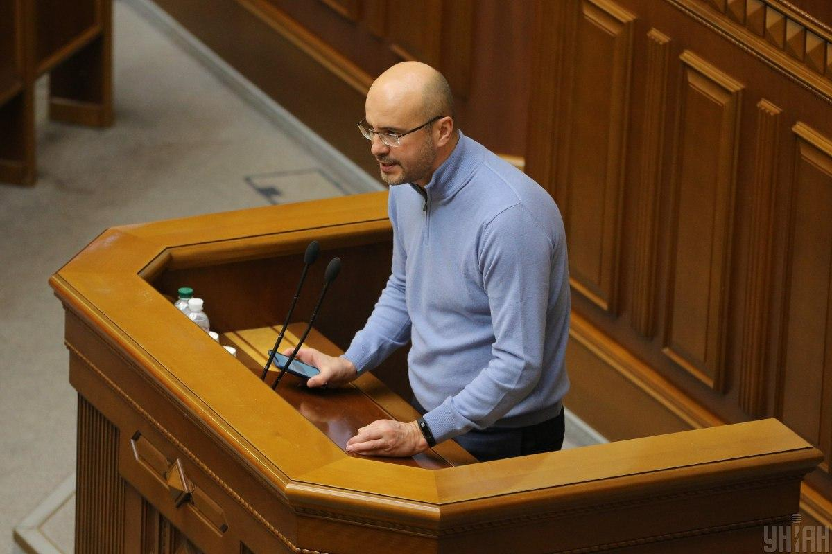 Рудик принесдепутатскую присягу / фото УНИАН