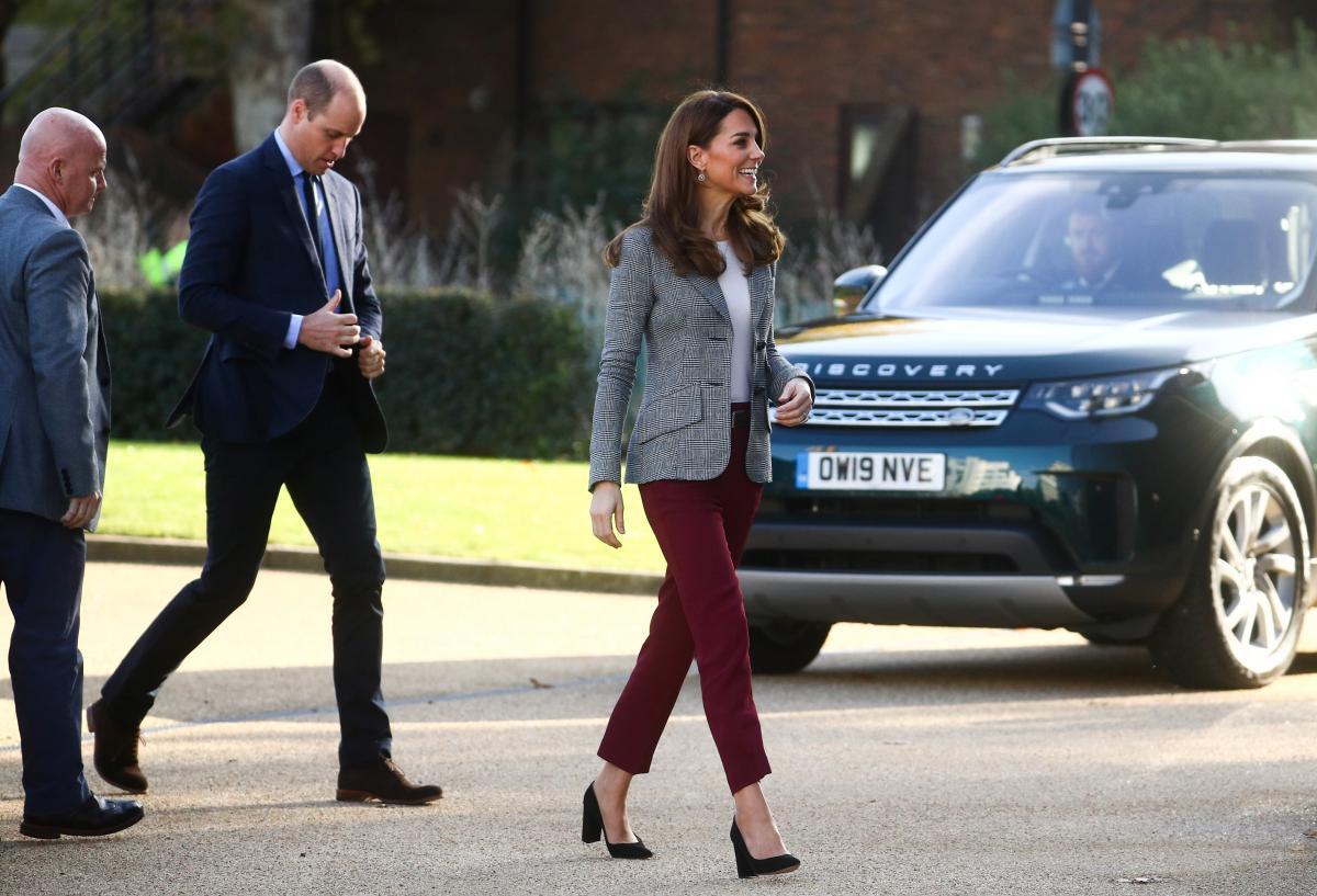Автомобиль Кембриджей оценили в 1,5 млн гривень / фото REUTERS