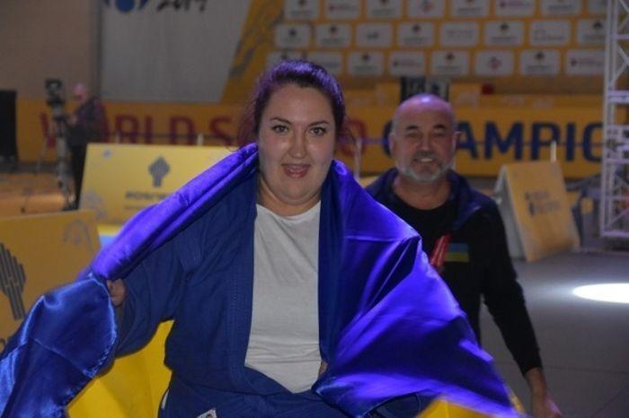 Сапсай победила всех соперниц / фото: sambo.net.ua
