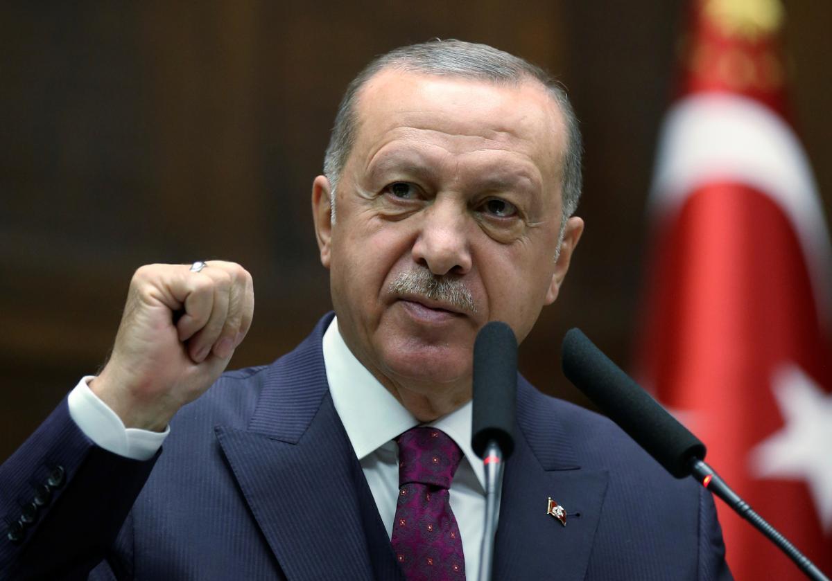 Президент Турции Реджеп Эрдоган / фото REUTERS
