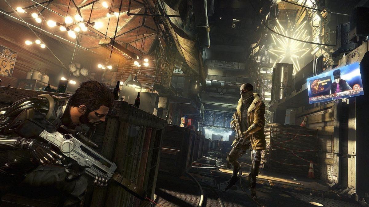 Deus Ex: Mankind Divided - отличный стэлс-экшн о проблемах мира будущего можно взять со скидкой в 83% / скриншот