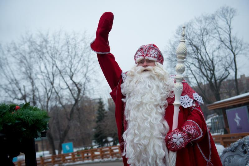 Дед Мороз/ фото: Наталья Феоктистова, «Вечерняя Москва»