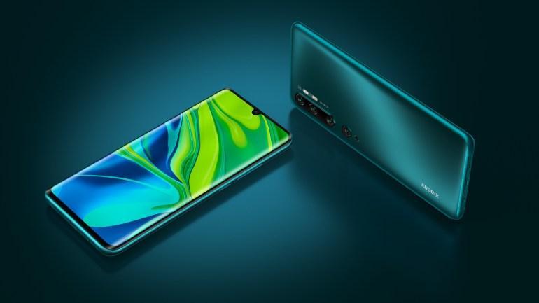 В Украине стартовали продажи Xiaomi Mi Note 10 / фото Xiaomi