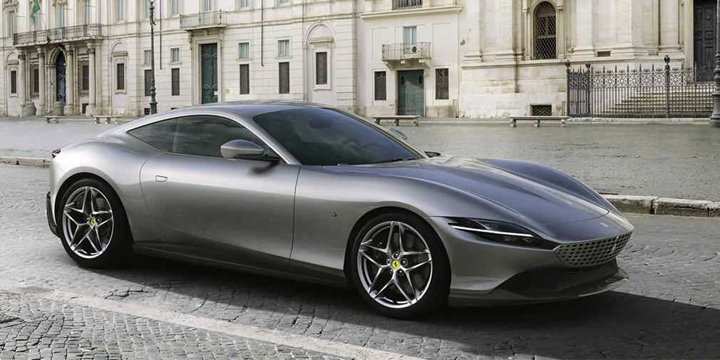 Дизайн Roma виконаний у стилі ретро і чимось нагадує Daytona / фото Ferrari