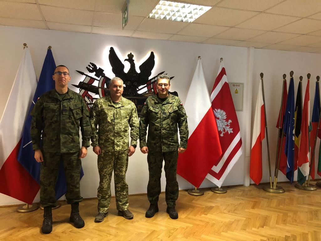 Делегация украинских военных поехала в Польшу / mil.gov.ua