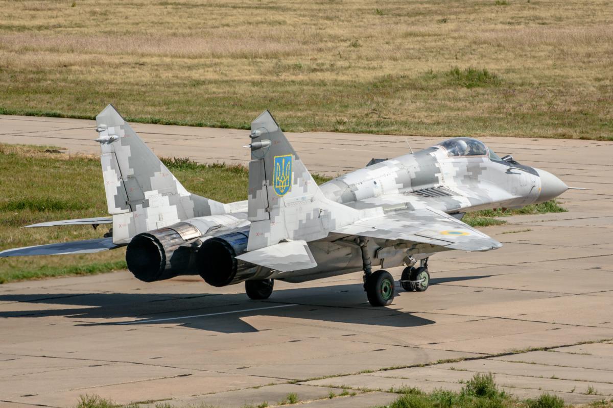 Модернізований винищувач МіГ-29 / фото: armyinform.com.ua