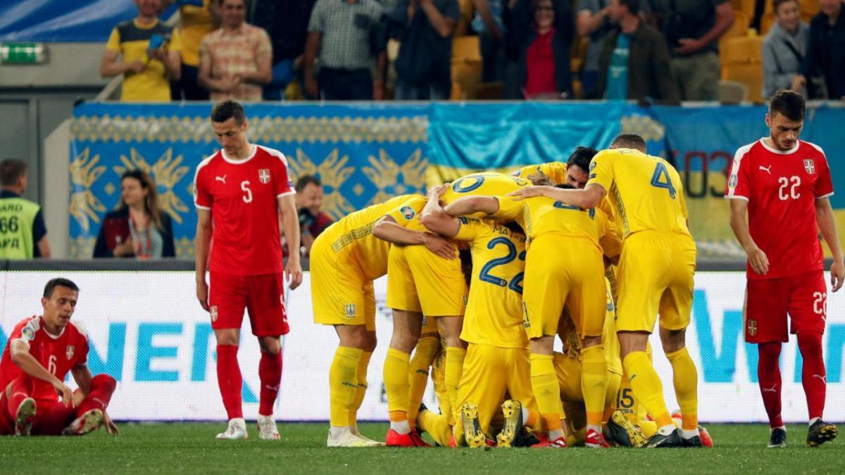 Украина разгромила Сербию в прошлом матче / фото: УАФ