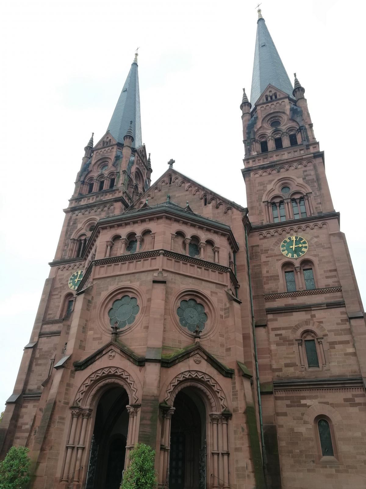 Церква Johanneskirche у Фрайбурзі / Фото Марина Григоренко
