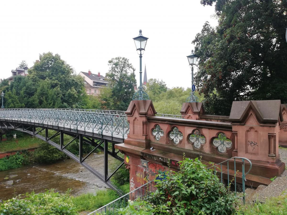 Міст через річку Драйзам у Фрайбурзі / Фото Марина Григоренко