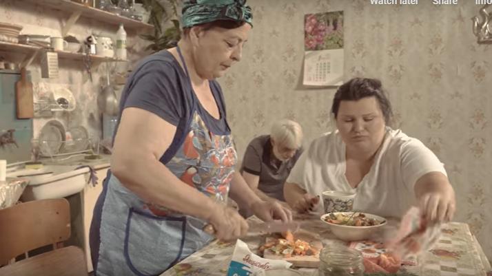 alyona alyona сняла клип на песню о супе / скриншот