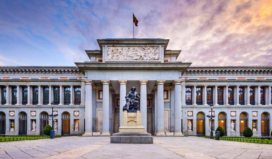 Музей Прадо открылся 19 ноября 1819 года в Мадриде в специально выстроенном дворцовом здании / bestin.ua