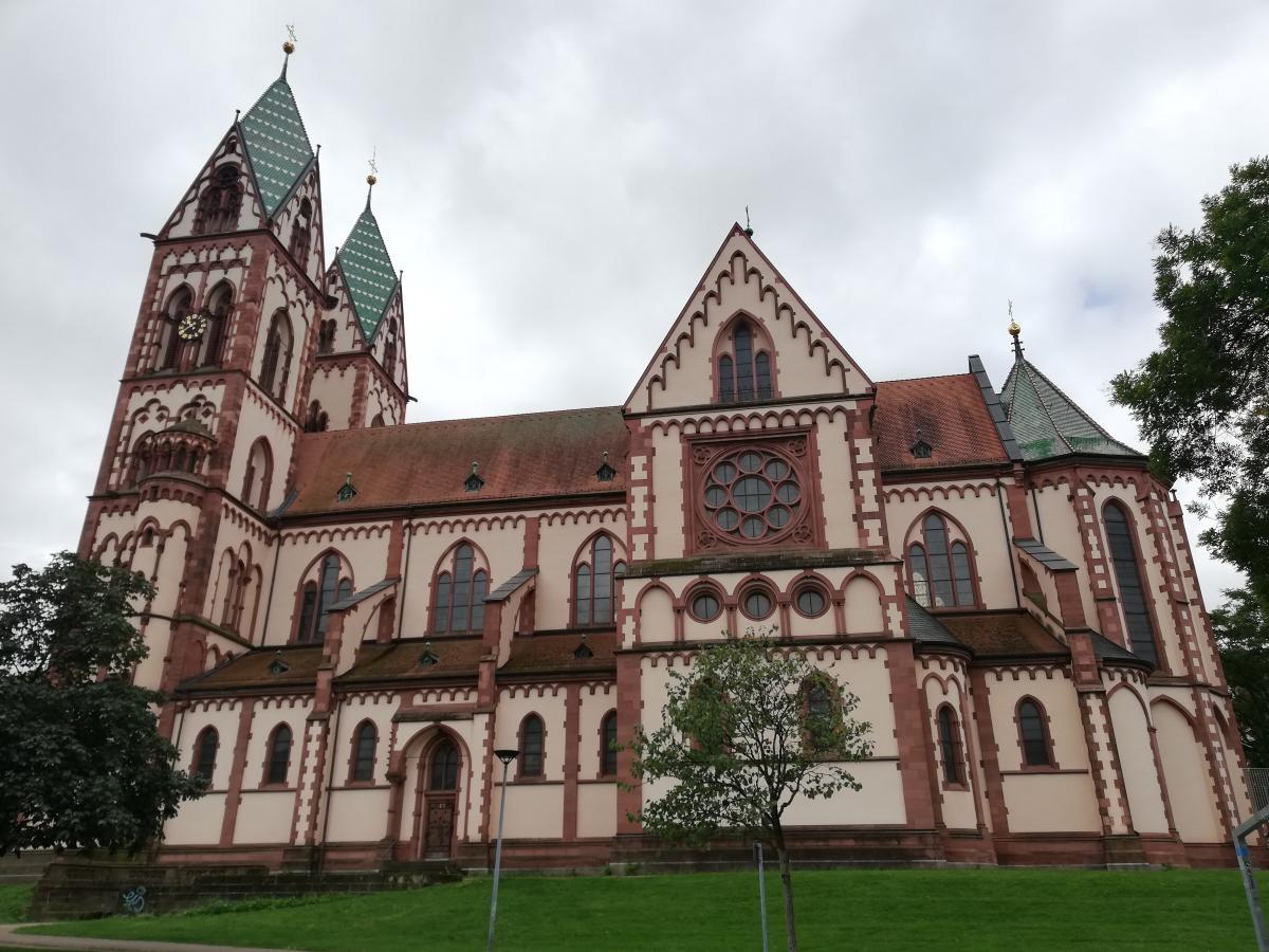 Herz-Jesu-Kirche у Фрайбурзі / Фото Марина Григоренко