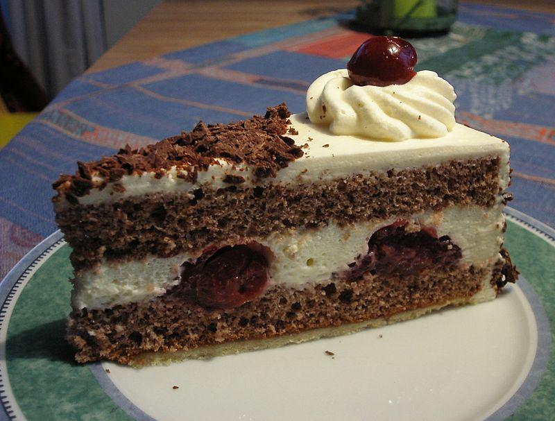 Традиційний шварцвальдський вишневий торт / Фото de.wikipedia.org