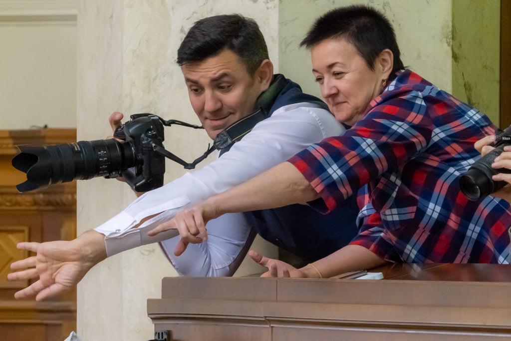 Николай Тищенко в Верховной Раде внезапно посетил ложу прессы / Фото: facebook.com/bogdanbortakov