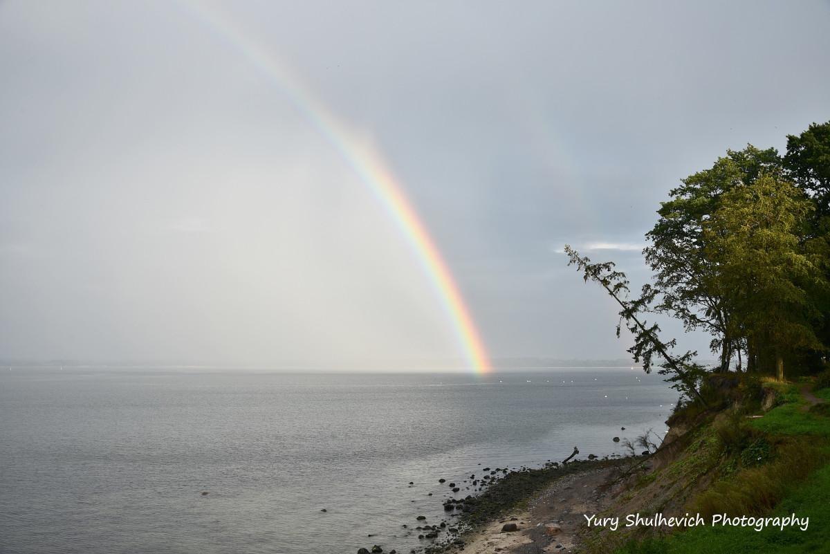 Балтійське море після дощу / фото Yury Shulhevich