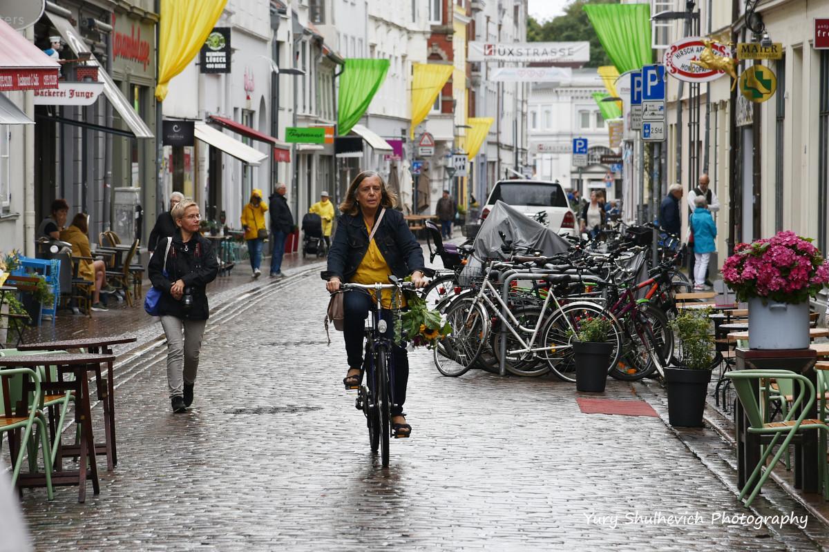 Німці полюбляють велосипеди / фото Yury Shulhevich
