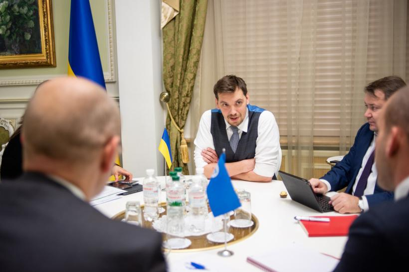 В Киеве работает мисси МВФ / фото kmu.gov.ua
