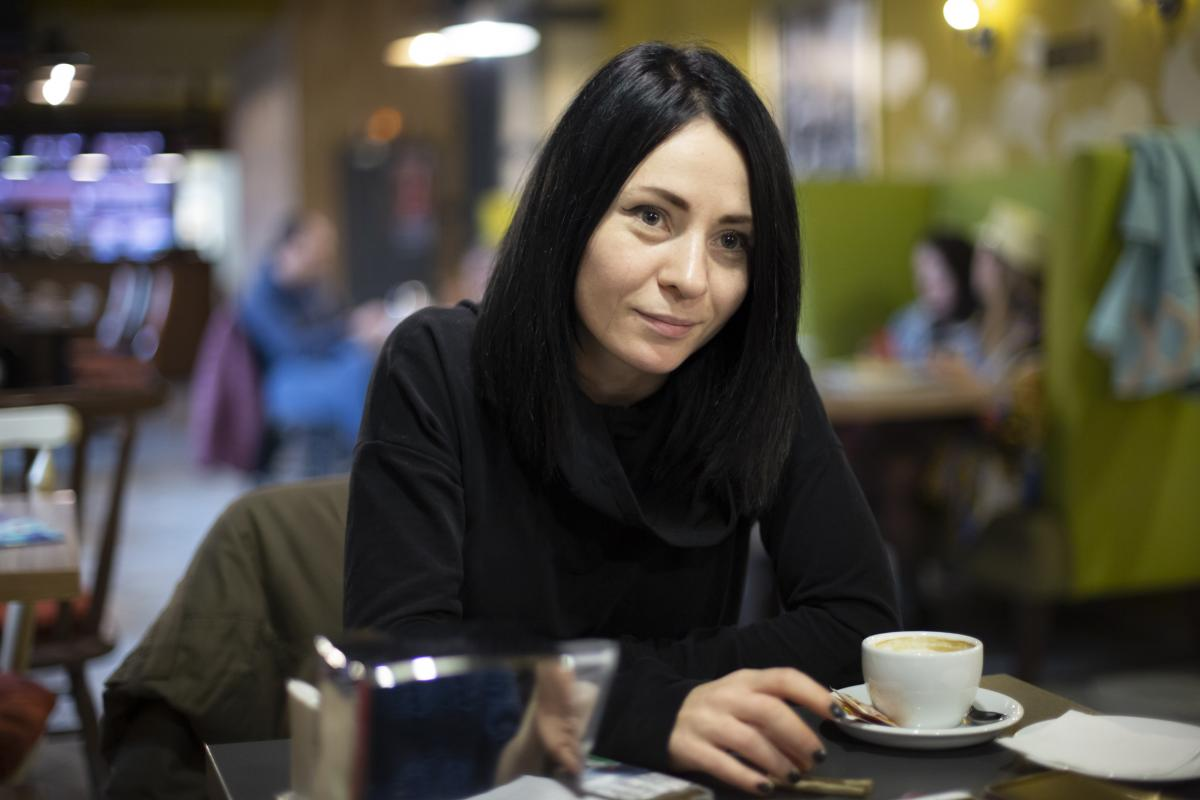 Марина Дымшиц живет и работает в Германии, приезжая в Украину преподавать «режиссуру монтажа» / фото УНИАН